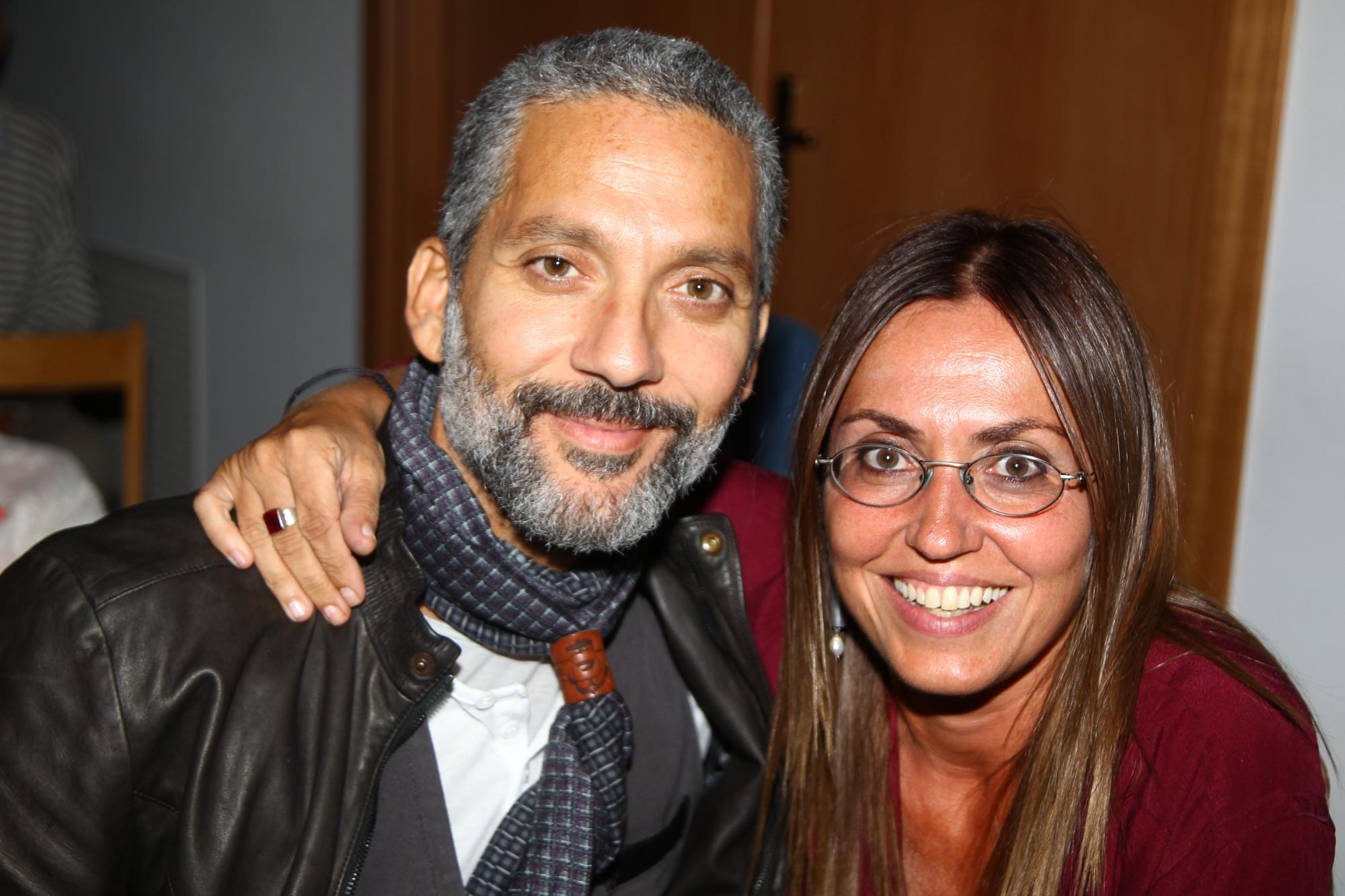 Beppe Fiorello e Giovanna Taviani