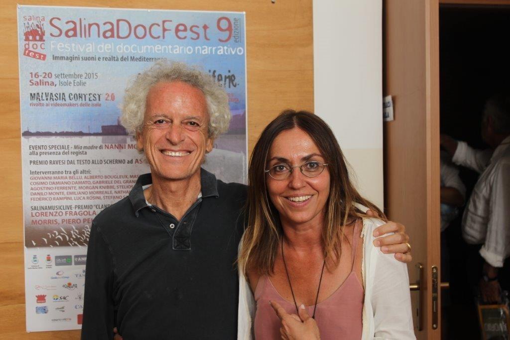 Federico Rampini e Giovanna Taviani
