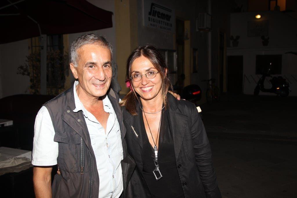 Giovanni Maria Bellu e Giovanna Taviani