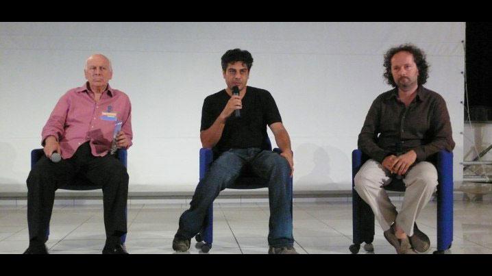 Bruno Torri, Agostino Ferrente e Marco Bertozzi