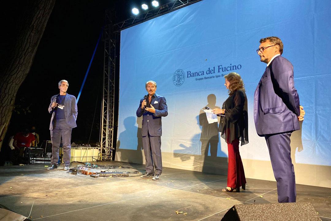 Premio Sicilia Turismo e Innovazione. Dario Mirri, Mauro Masi, Lidia tilotta, Luciano Basile.