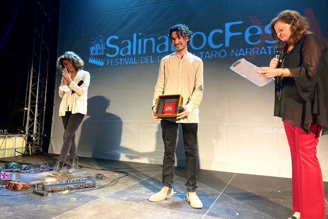 Premio Tasca D'Oro a Movida di Alessandro Padovani. Jasmine Trinca, Alessandro Padovani, Lidia Tilotta.
