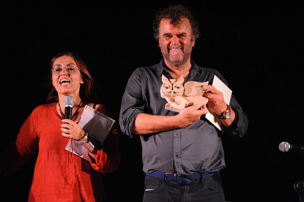 Pippo Delbono e Giovanna Taviani