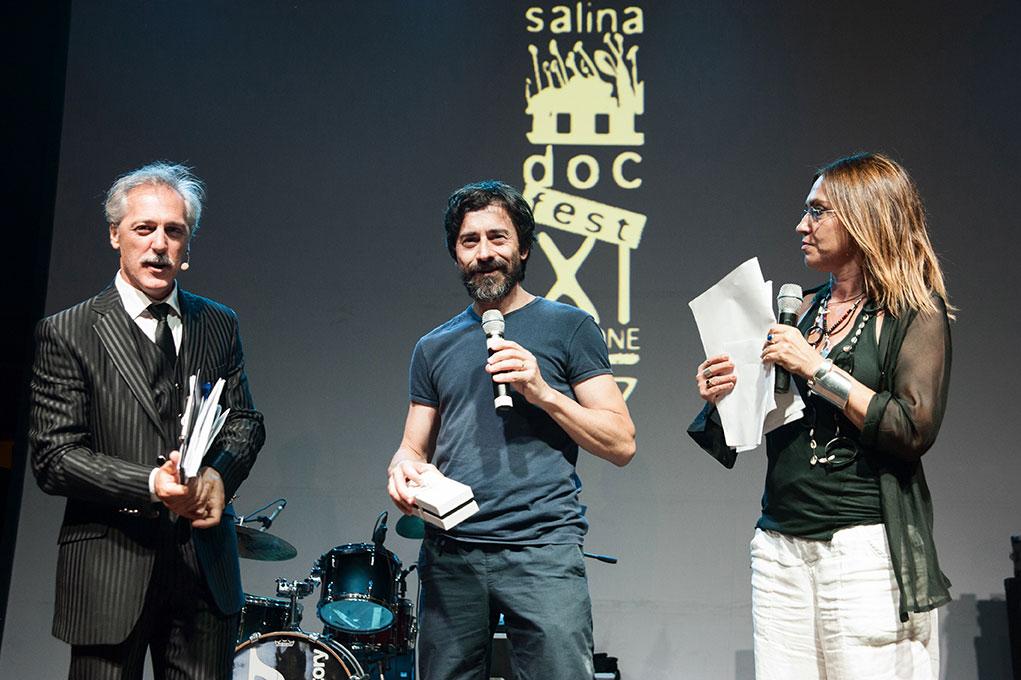 Marcello Mazzarella Luigi Lo Cascio e Giovanna Taviani