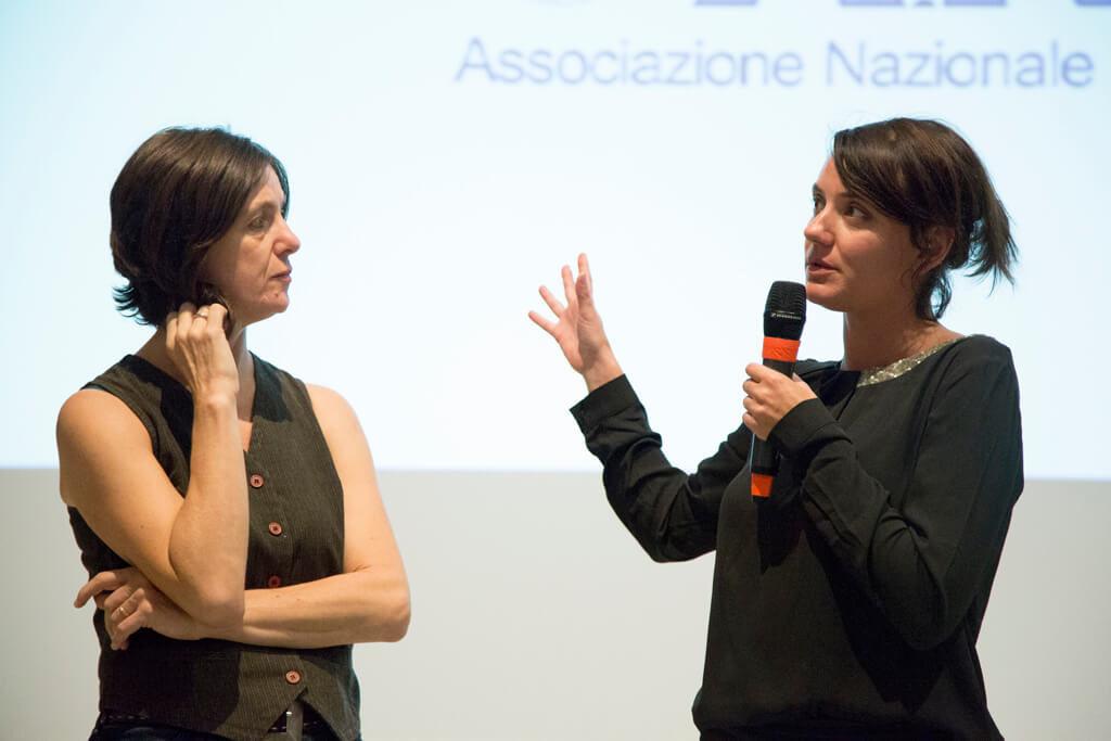 Ilaria Fraioli e Silvia Staderoli