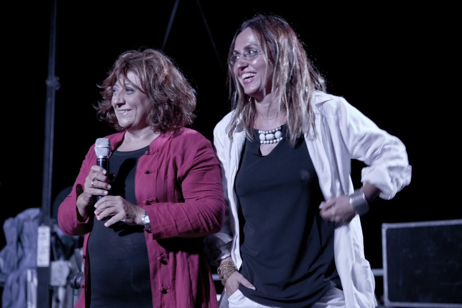 Laura Delli Colli e Giovanna Taviani SDF 2013