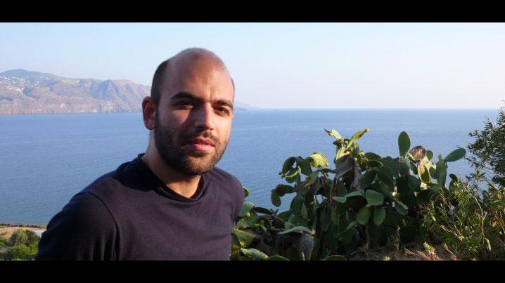 Roberto Saviano a Salina
